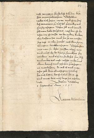 Brief erster Brief online datiert